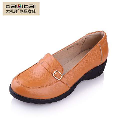 flat shoes comfortable sale autumn genuine leather flat shoes