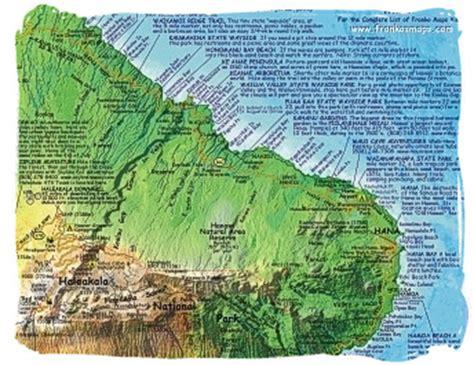 printable road to hana map road to hana maps