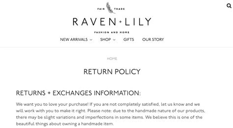 How To Write An Ecommerce Return Policy Template And Exles Refund And Exchange Policy Template