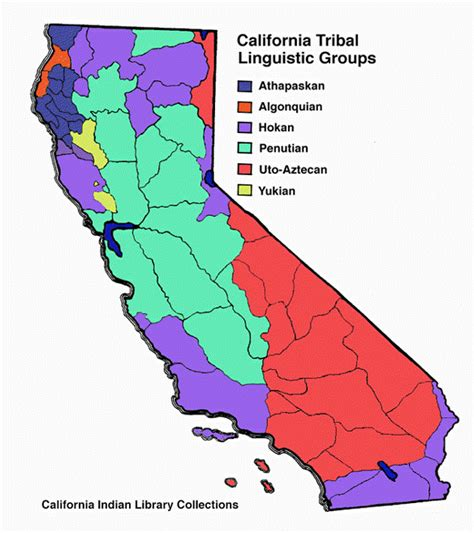 american tribes in california map the original californians