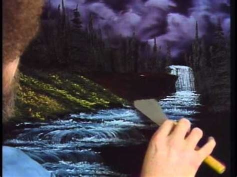 bob ross paintings season 1 seasons snow falls and waterfalls on