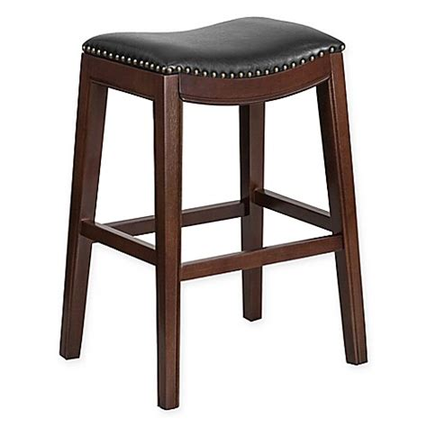 30 backless bar stools buy flash furniture wood 30 inch backless barstool in