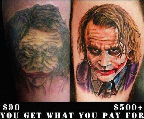 tattoos prices how much do tattoos cost 90 1000 quality difference