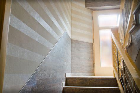 Treppenhaus Für Kleinen Raum by Wandverkleidung Treppenhaus Kreative Deko Ideen Und