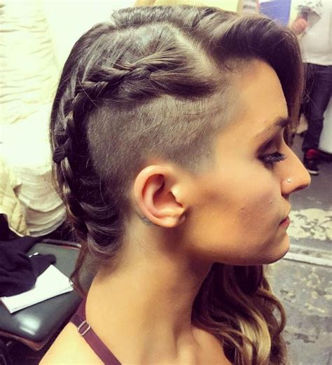 hair styles with both of sides shaved 11 shaved hairstyles that will make you want an undercut