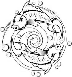 kids coloring pages koi fish tattoo design printable coloring pages kids girls