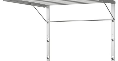 Laundry Drying Rack Wall Mount Ikea by Grundtal Drying Rack Wall 22x21 188 Quot Ikea Mount In Shower To Clothes Folds Flat When