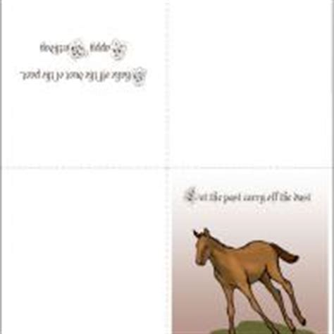 printable horse christmas cards 8 best images of horse free printable holiday cards