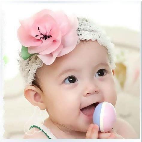 baby flower baby flower headbands colorful hair flowers