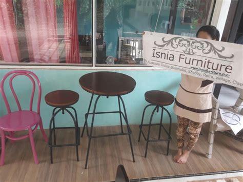 Meja Kursi Besi set meja kursi cafe besi model kursi cafe dan kursi