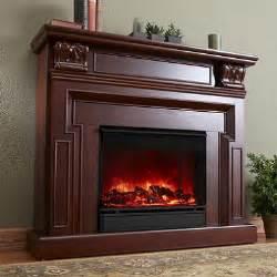 kristine electric fireplace mahogany sam s club