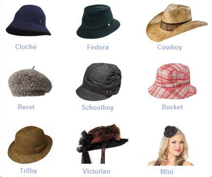 different era hair styles womens hat style names different types of hats caps hats