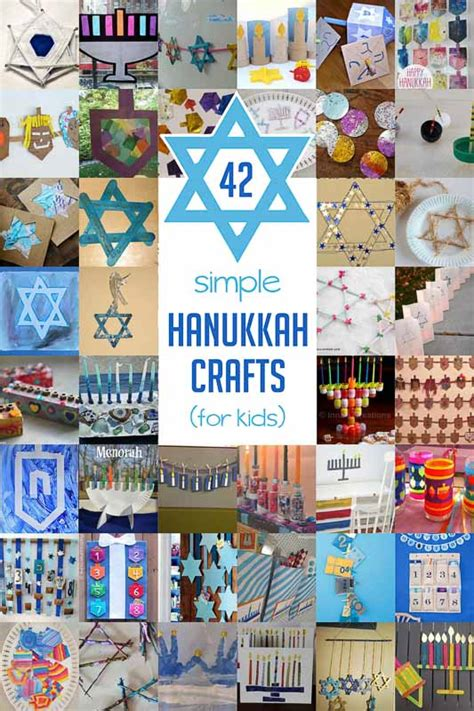 hanukkah crafts for 42 simple hanukkah crafts for to make on as