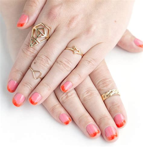 french faded nail designs