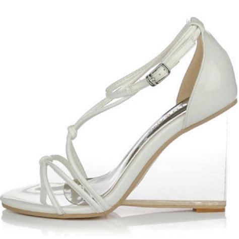 popular clear wedge heels buy cheap clear wedge heels lots