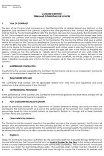 template for terms and conditions terms and conditions templates to write polices for your