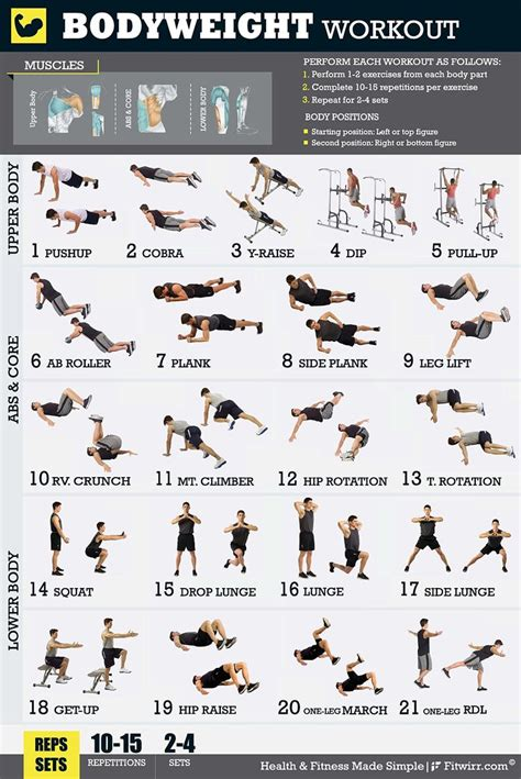 141 best workout and exercise plans images on