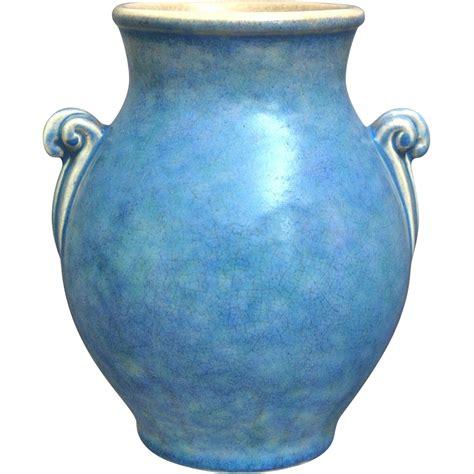 Weller Vase by Weller Pottery Quot Neiska Quot Vase 3 Circa 1933 From