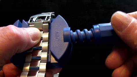 Adjusting Your Watch Bracelet   YouTube