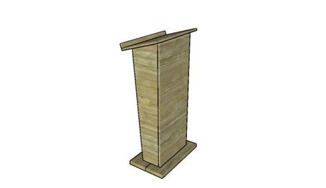podium plans woodworking podium woodworking plans myoutdoorplans free
