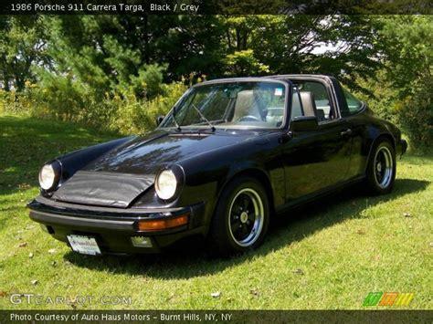 1986 porsche targa interior black 1986 porsche 911 targa grey interior
