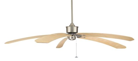 curved blade ceiling fan the islander fan satin nickel with curved maple blades