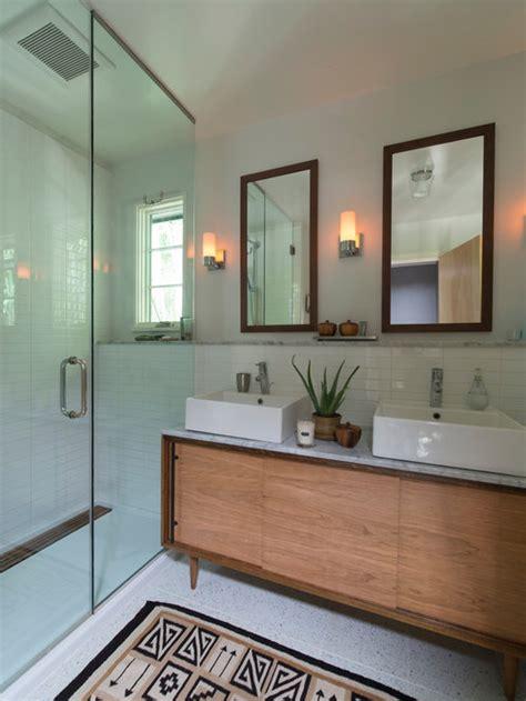 mid century modern bathroom houzz