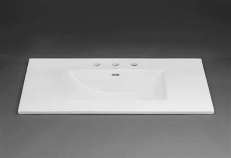sink tops bathroom ronbow 212237 1 wh white 37 quot ceramic vanity top with