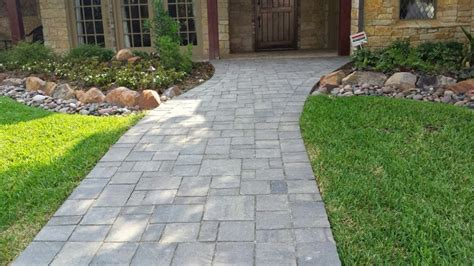 Patio Pavers Dallas Best Pavers For Walkway Paver Walkway Installation Plano
