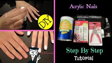 kiss acrylic tutorial diy at home kiss acrylic nail tutorial for beginners