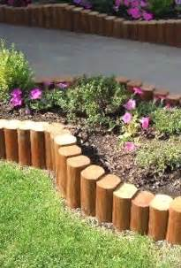 Landscape Edging Using Wood 25 Best Ideas About Landscape Timber Edging On