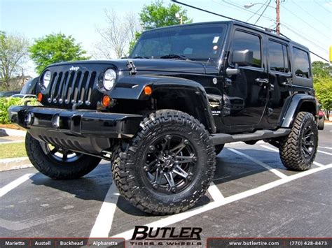 Jeep 18 Wheels Jeep Wrangler With 18in Ballistic Jester Wheels For The