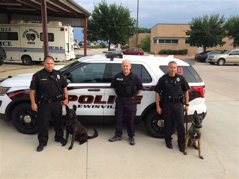 Lewisville Tx Arrest Records Lewisville Get A Visit From A K 9 Team From Wfaa