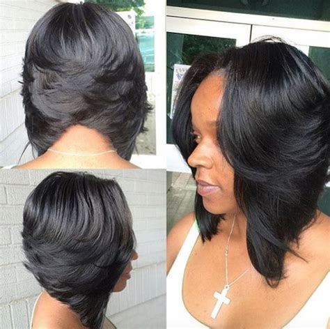 Short Side Part Hair Styles 360 View | short side part hair styles 360 view 25 best black bob