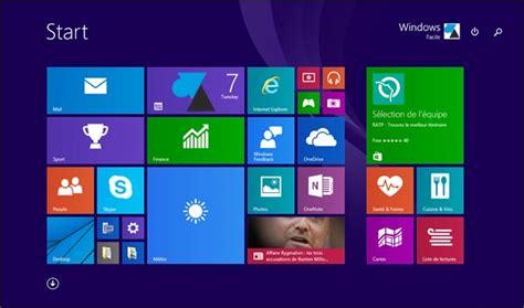 home design for windows 8 windows 10 retrouver l 233 cran d accueil de windows 8 windowsfacile fr