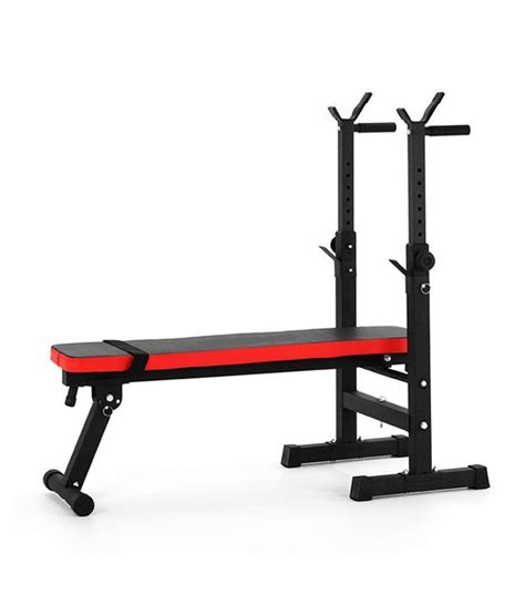 bench n bar imported folding multi exercise weight lifting bench with