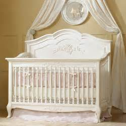 convertible crib vanilla and nursery