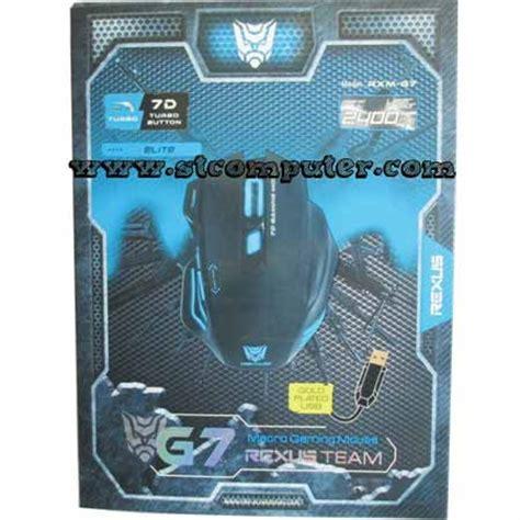 Mouse Macro Rexus mouse gaming macro rexus g7
