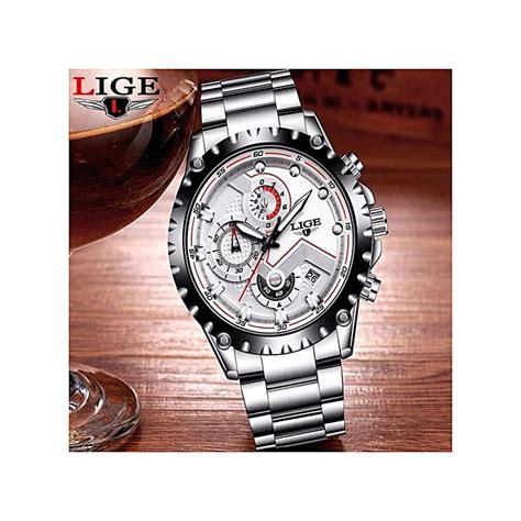 lige montre de luxe lige quart pour homme avec chronographe 224 prix pas cher jumia maroc