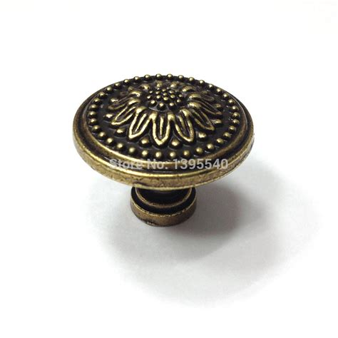 new 2pcs 26mm antique cabinet kitchen drawer knob