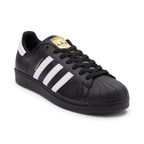 mens adidas superstar athletic shoe black 436151