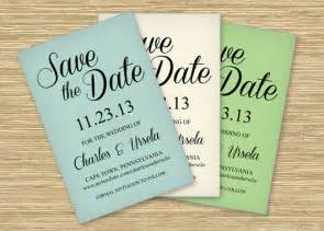 Free Save The Date Template by Freebie Friday Save The Date Printable Postcard