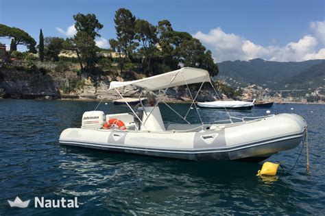 inflatable boat in rapallo liguria for rental without a - Zodiac Boat License
