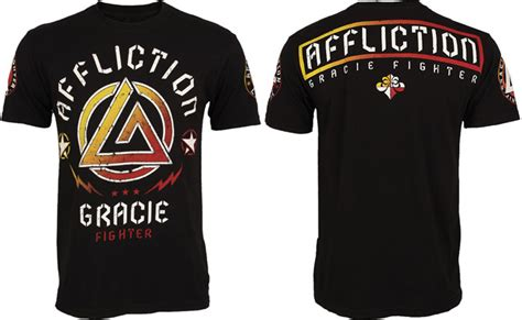 Tshirt Kaos Fighters affliction mma series t shirts
