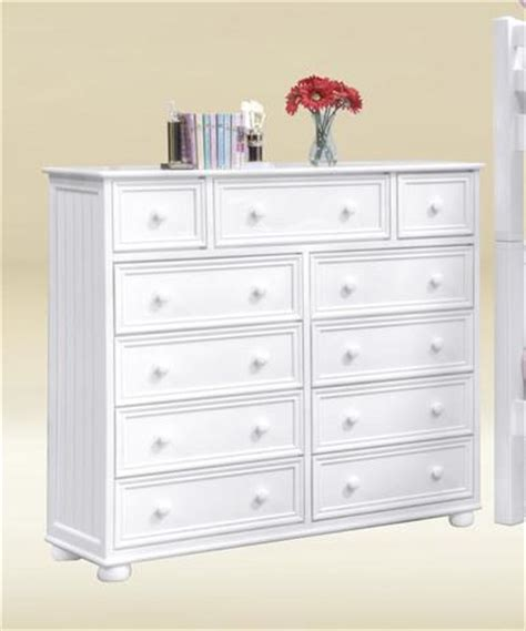 Large Chest Of Drawers White by Montclair White11 Drawer Chest Large White Wood Chest Of