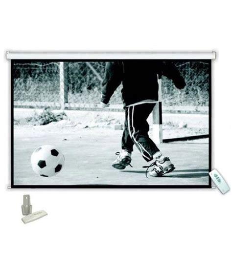 120 inch motorized projector screen buy nechams motorized projector screen 6ft x 8ft or 120