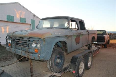 dodge w200 power wagon dodge power wagons pinterest 1962 w200 dodge power wagon crew cab 4 000 nd 4x4