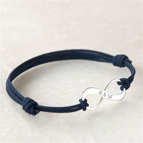 infinity bracelets s personalised infinity bracelet by merci maman