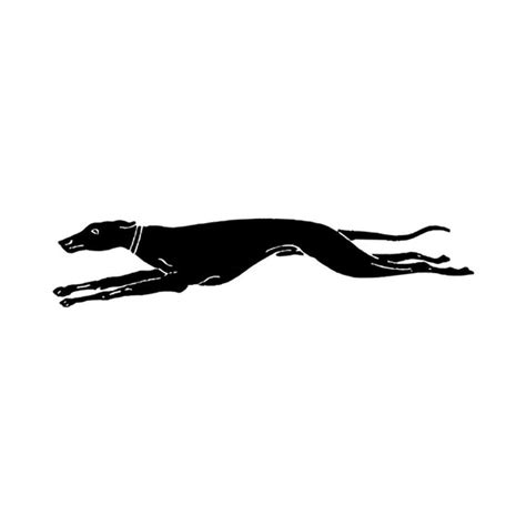 running greyhound mounted rubber stamp by silvercrowgreyhounds