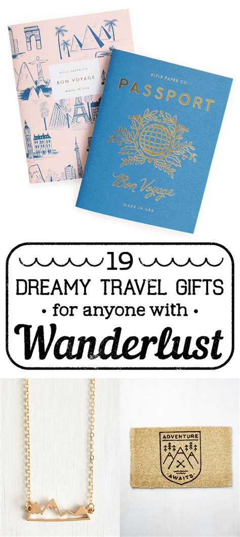 Great Gifts For A With Wanderlust by 19 Dreamy Travel Gifts For Anyone With Wanderlust